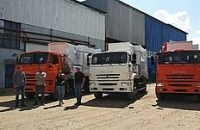 Три мусоровоза МБ-18 на шасси КАМАЗ-53605 отправились в Омск!