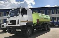 Компания ТЕХИНКОМ-АВТОМАШ представляет новый топливозаправщик под брендом CHAMELEON