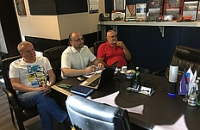 Бизнес-встреча руководителей компаний Hangil SV и ТЕХИНКОМ